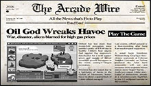 The Arcade Wire: Oil God